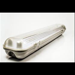 Φωτιστικό Στεγανό για Λάμπα T8 Led 2x60cm IP65