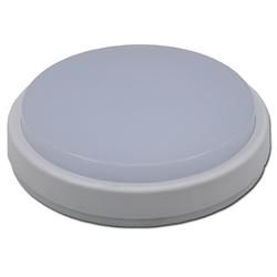 LED Πλαφονιέρα IP65 12W Στρογγυλή Ψυχρό Λευκό