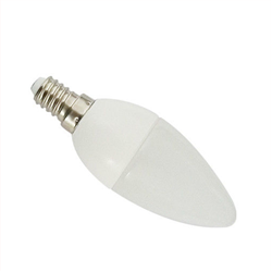 Λάμπα Led Κερί E14 6W Ψυχρό λευκό