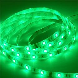 Ταινία led strip Professional IP20 4.8 watt με 60 led 3528 smd ανα μέτρο Πράσινη