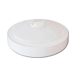 LED Πλαφονιέρα 15W Στρογγυλή Με Ανιχνευτή Κίνησης Ψυχρό Λευκό