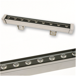 Wall washer led 18watt 230volt Θερμό λευκό