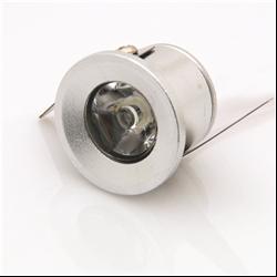 Στρογγυλό Σποτ Power Led  χωνευτό 1 Watt Θερμό Λευκό