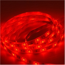 Ταινία led αδιάβροχη IP65 4.8 watt με 60 led 3528 smd ανα μέτρο Κόκκινο