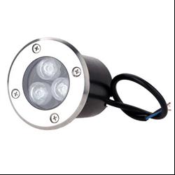 Φωτιστικό Led Δαπέδου Χωνευτό 220V 3x1Watt Θερμό Λευκό