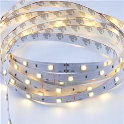 Ταινία led strip IP20 7.2 watt με 30 led 5050 smd ανα μέτρο Θερμό λευκό