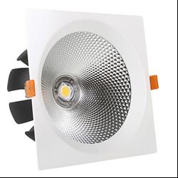 Τετράγωνο Led COB 15watt Φυσικό λευκό