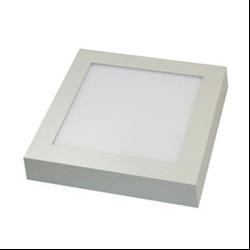 Led Panel τετράγωνο εξωτερικό 12watt Θερμό λευκό