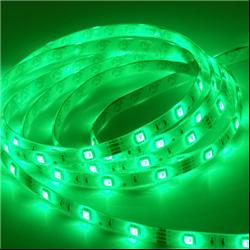 Ταινία led αδιάβροχη IP65 4.8 watt με 60 led 3528 smd ανα μέτρο Πράσινο