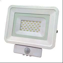LED Προβολέας SMD 20 Watt  Classic Line2 με Ανιχνευτή Κίνησης Φυσικό Λευκό