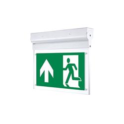LED Φωτιστικό Ασφαλείας Οροφής ή Επιτοίχιο 2W με Ρυθμιζόμενη Γωνία