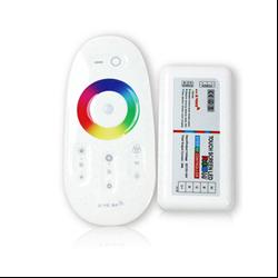 Ασύρματο RGB Λευκό Controller Αφής με Dimmer για ταινία Led 288w