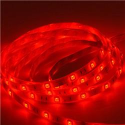 Ταινία led αδιάβροχη Professional IP65 4.8 watt με 60 led 3528 smd ανα μέτρο Κόκκινο