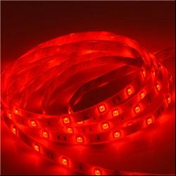 Ταινία led strip IP20 4.8 watt με 60 led 3528 smd ανα μέτρο Κόκκινη