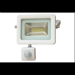 LED Προβολέας Slim SMD I-Desing 10 Watt με Ανιχνευτή Κίνησης Ψυχρό Λευκό