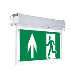 LED Φωτιστικό Ασφαλείας Χωνευτό Οροφής 2W