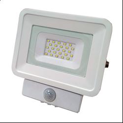 LED Προβολέας SMD 10 Watt  Classic Line2  με Ανιχνευτή Κίνησης Θερμό Λευκό