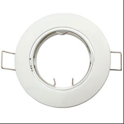 Βάση Σποτ MR16 Στρογγυλό Κινητό Λευκό
