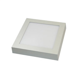 Led Panel τετράγωνο εξωτερικό 7watt Θερμό λευκό