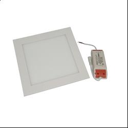 Φωτιστικό οροφής τετράγωνο panel Led χωνευτό 3watt Ψυχρό λευκό