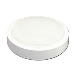 LED Πλαφονιέρα 24W Στρογγυλή Θερμό Λευκό