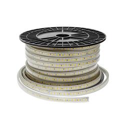 Ταινία Led Αδιάβροχη IP44 10watt με 120smd 5730 ανα μέτρο 230V/AC Θερμό λευκό