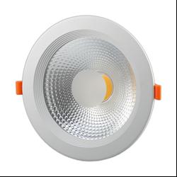 Φωτιστικό Led COB Στρογγυλό 30watt Θερμό λευκό - TUV PASS