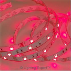 Ταινία led IP20 14.4 watt με 60 led 5050 smd ανα μέτρο Κόκκινο