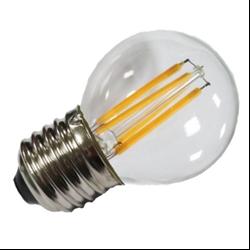 Filament E27 Λάμπα Led G45 4W 400Lm Φυσικό λευκό