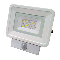 LED Προβολέας SMD 10 Watt  Classic Line2 με Ανιχνευτή Κίνησης Ψυχρό Λευκό
